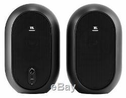 Pair JBL One Series 104 Compact Powered Active Desktop Studio Reference Monitors
