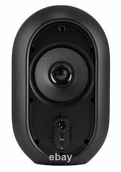 Pair JBL One Series 104 Powered Studio Monitors+8 Black Desktop Speaker Stands