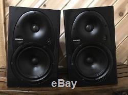 Pair Mackie HR624 HR-624 Powered THX Studio Monitors