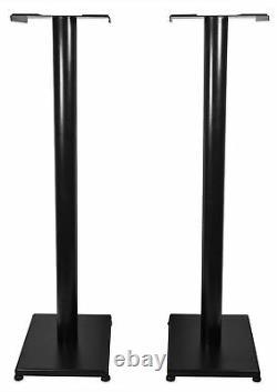 Pair Mackie MR524 5 50 Watt Powered Active Studio Monitor Speakers+37 Stands