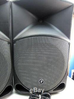 Pair Mackie Thump TH-15A 400W Active Powered Speaker Reinforcement Loudspeaker