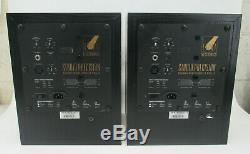 Pair Of Event Asp6 Powered Studio Precision Monitor Speakers