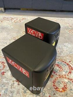 Pair Of KRK Rokit 5 RPG2 Powered Monitor Speakers Black Rockit Yellow