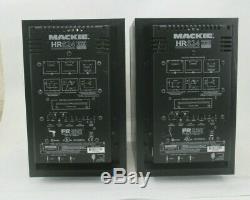 Pair Of Mackie Hr624 Power Studio Monitors
