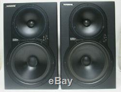 Pair Of Mackie Hr824 Power Studio Monitors