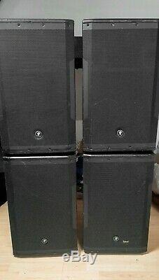 Pair Of Mackie Srm550 1600w 12 Powered Pa Loudspeakers 2 Pairs Available