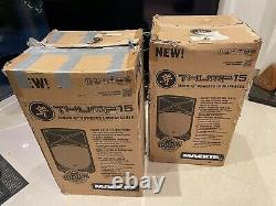 Pair Of Mackie Thump 15A Active DJ PA Powered Speakers