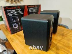 Pair Of Pioneer S-DJ50X Active DJ Monitor Speakers Black Powered 5 Inch
