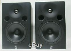 Pair Of Yamaha Msp7 Studio 6.5 Powered Monitor Speakers
