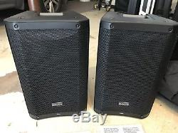 Pair Presonus Air10 10 Active Powered PA DJ Speakers Air 10 With Stagg Bags QSC