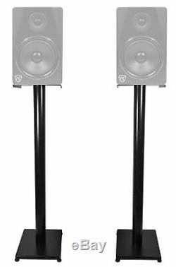 Pair Presonus ERIS E44 85w Active Powered Dual 4 MTM Studio Monitors+37 Stands