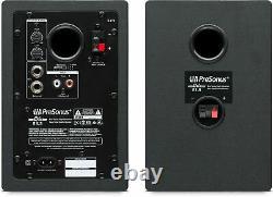 Pair Presonus Eris E3.5 3.5 Powered Studio Monitor Speakers+Microphone+Cables