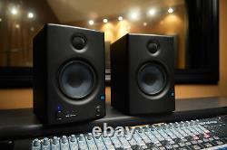 Pair Presonus Eris E4.5 Powered 4.5 Studio Monitors+USB Microphone+Headphones
