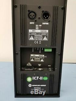Pair Renkus Heinz IC7-II Line Array Powered Steerable Column Speaker (Loc17B)