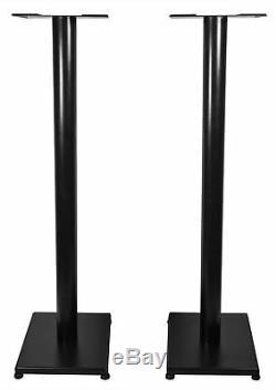 Pair Rockville APM6B 6.5 350W Powered USB Studio Monitor Speakers+37 Stands