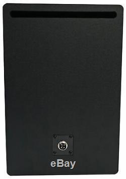 Pair Rockville APM6C 6.5 2-Way 350 Watt Powered USB Studio Monitors+Stands+Pads