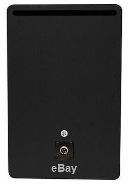 Pair Rockville APM8C 8 500W Powered Studio Monitors+Stands+Pads+Headphones