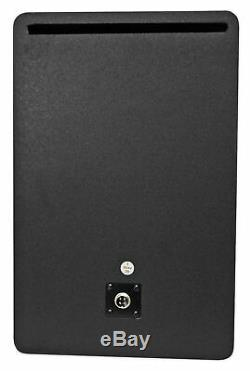 Pair Rockville APM8W 8 2-Way 500 Watt Powered USB Studio Monitors+Stands+Pads