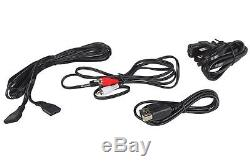 Pair Rockville ASM5 5 2-Way 200W Active/Powered USB Studio Monitors + Stands