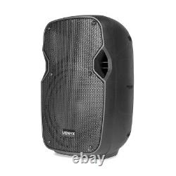 Pair Vonyx AP800A 8 Hi-End Active Powered Studio Speakers 400W UK Stock
