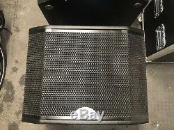 Pair of 15 Powered Sub Speaker W-Audio LSR115p FANTASTIC VALUE 100mm wheels