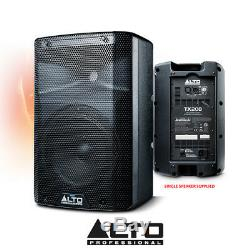 Pair of Alto TX208 Active Speakers 600W 8 Powered PA DJ Loudspeakers NEW