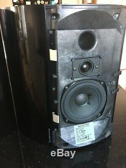 Pair of Bang & Olufsen Beolab 4000 active speakers and 2 power leads Black