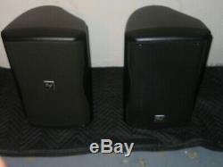 Pair of Electro-Voice EV ZXA1-90 Active DJ/Club Powered Loud-Speaker