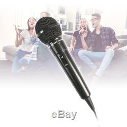 Pair of Fenton 10 Powered Bluetooth Speakers + 2x Wired Handheld Mics 600W
