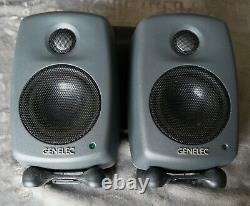 Pair of Genelec 6010B Powered Monitor Speakers