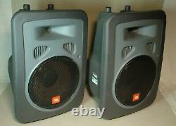 Pair of JBL EON Power10 Active Powered DJ PA Speakers