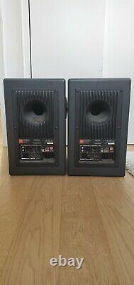 Pair of JBL LSR 4328P Powered Studio Monitor Speakers (READ DESCRIPTION)