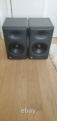 Pair of JBL LSR 4328P Powered Studio Monitor Speakers (READ DESCRIPTION)