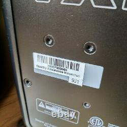 Pair of KRK VXT6 Powered Speakers Including Grille Protectors Studio Monitors