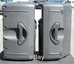 Pair of Mackie SRM450 Powered Active Sound Reinforcement System Monitor Speakers