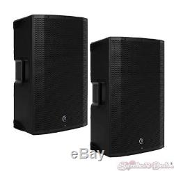 Pair of Mackie Thump12BST Boosted 1300W 12 Advanced Powered Loud Speakers
