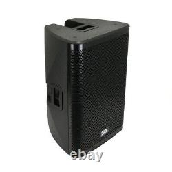 Pair of Powered 15 1000W PA /DJ Loudspeaker DSP, Bluetooth, Mixer, Class D Amp
