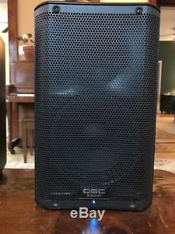 Pair of QSC K8 Powered Speakers Great Condition