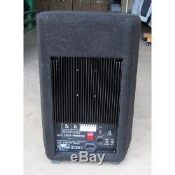 Pair of SR Live 280 Active Speakers powered Black Moquette Finish