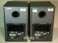 Pair of Soundcraft Spirit Absolute 4P Active Powered Studio Monitors Speakers