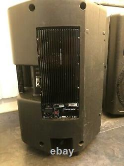 Pair of Studio Master VPX15 400W RMS 15 Powered Active Speakers PA Disco