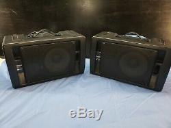Pair of Yamaha MS60S 60 Watts Each Powered Monitor