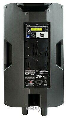 Peavey Dark Matter DM115 Powered PA Loudspeaker (PAIR)