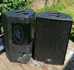 Peavey Hisys H10 Powered PA Active 10 Loudspeakers 1200W DSP (Pair)