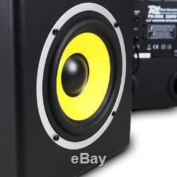 Power Dynamics PDSM6 Pair 6.5 Inch Active Powered Home Project Studio Monitors