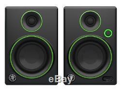Powered Studio Monitors Active Speakers, Professional Sound, Pair, 3