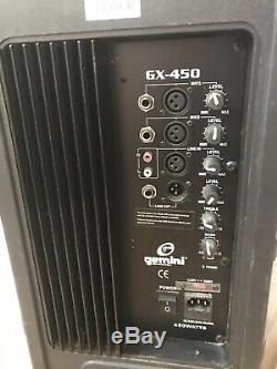 Powered speakers pair