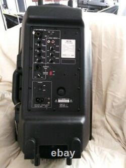 Powered speakers pair qtx dj disco