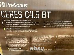 PreSonus Ceres C4.5BT Powered Speakers With Bluetooth (Pair)