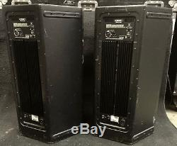 QSC HPR 122i powered speaker with covers. 1 PAIR